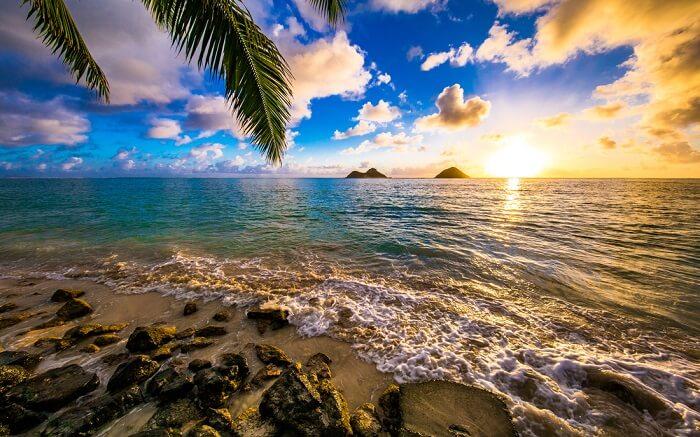 The beautiful Lanikai Beach