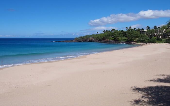 The gorgeous Hapuna Beach
