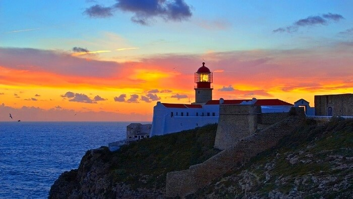 Travel to end of the world - Cabo de Sao Vicente portugal