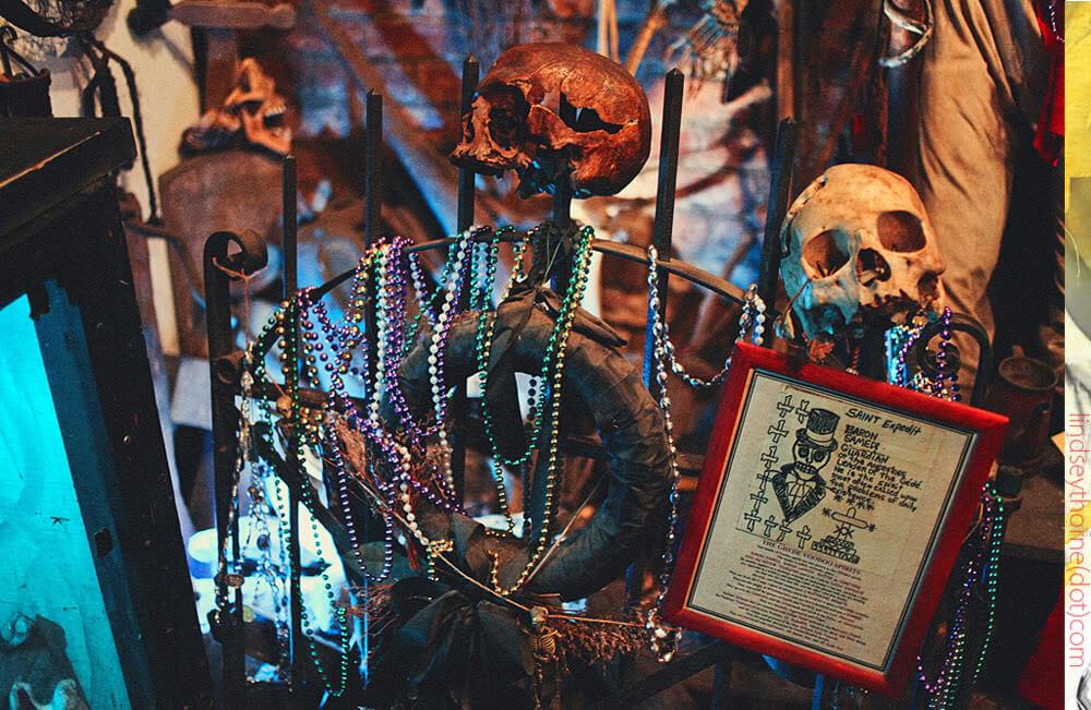 Voodoo Museum in New Orleans