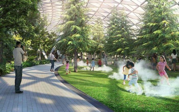 Jewel Changi Airport in Singapore kids arena