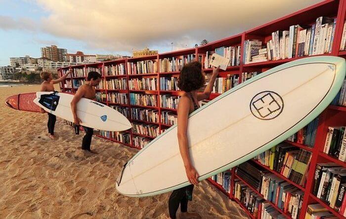 beach library australia