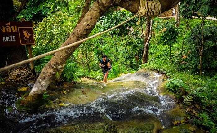 bua Tong Waterfalls Thailand