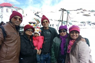 Saurabh family trip to sikkim travelogue