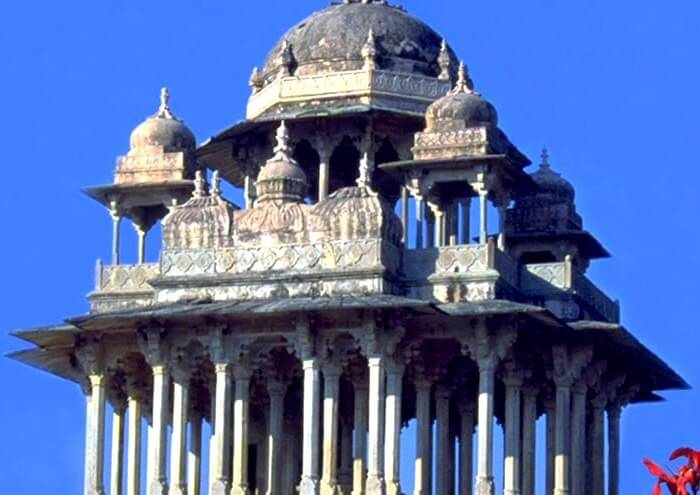 Chaurasi Khambo ki Chhatri in Bundi, Rajasthan