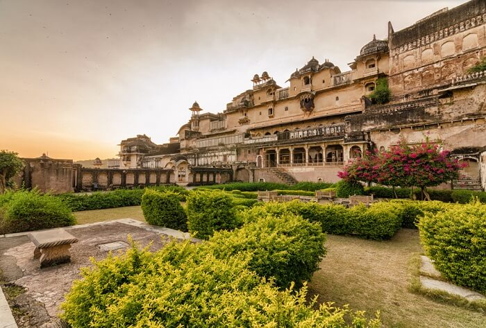 A view of Majestic Garh Palace