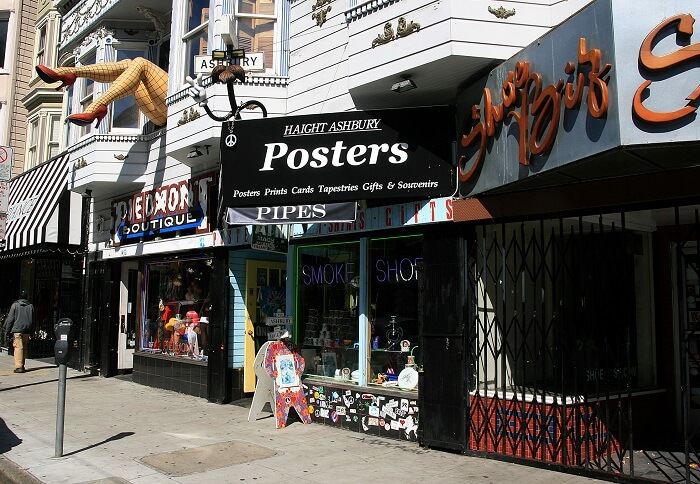 shopping on haight street