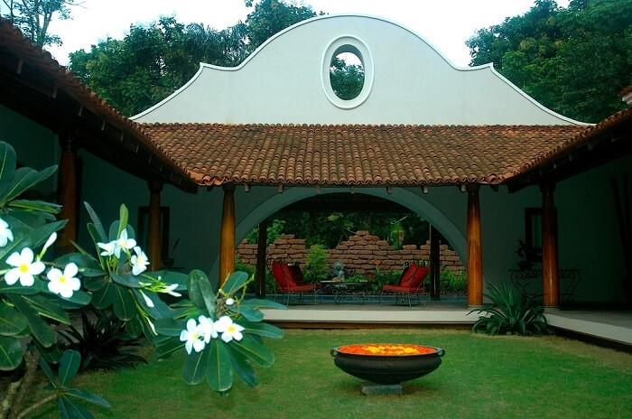 balcony of ikshaa villa