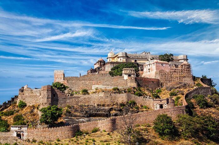 kumbhalgarh fort near nathdwara