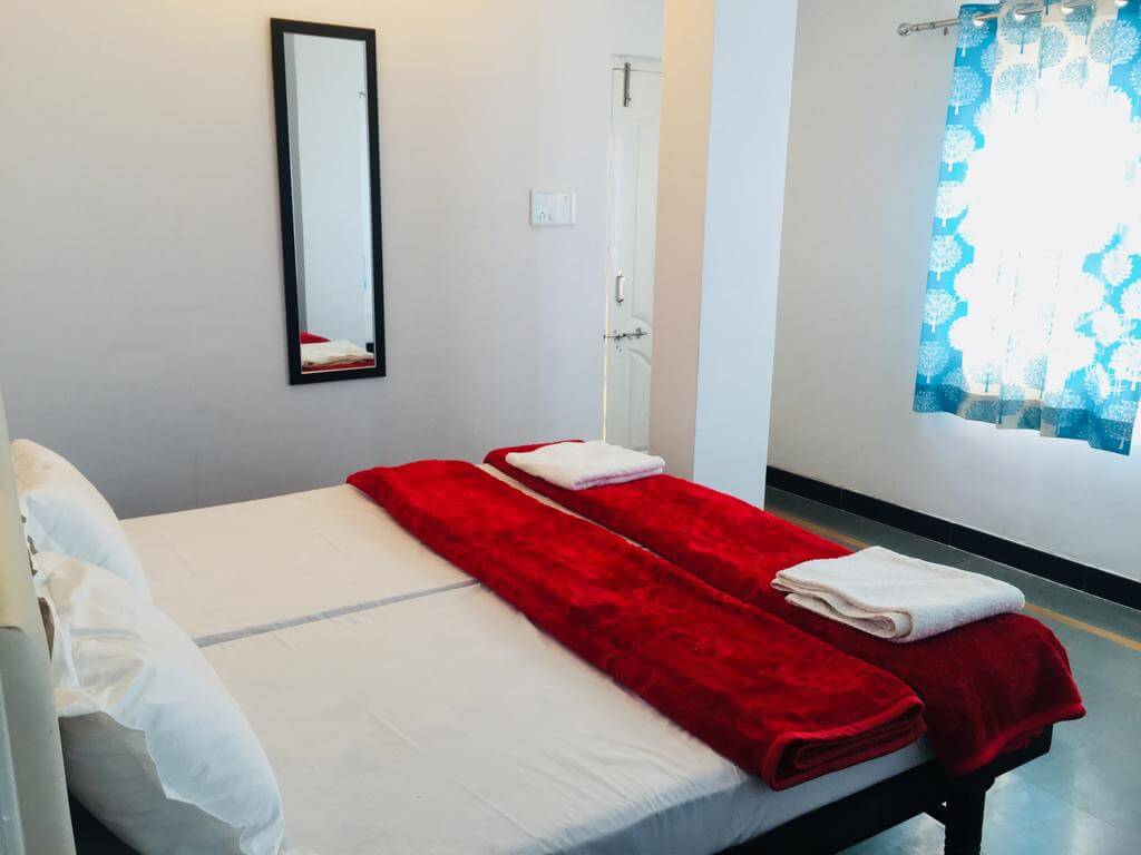 facilitates guests to rejuvenate and seek peace