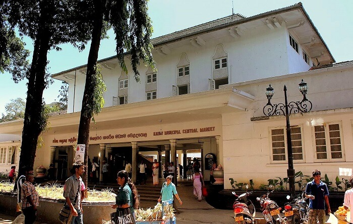 Main market in Kandy