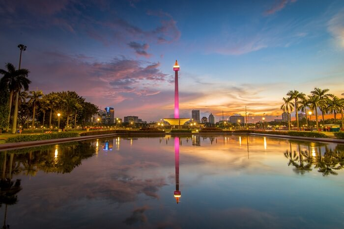enjoy panoramic views of Jakarta