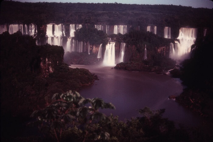 Moonlight tour to Iguazu falls