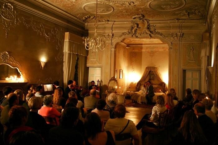 A show at Musica A Palazzo, Venice