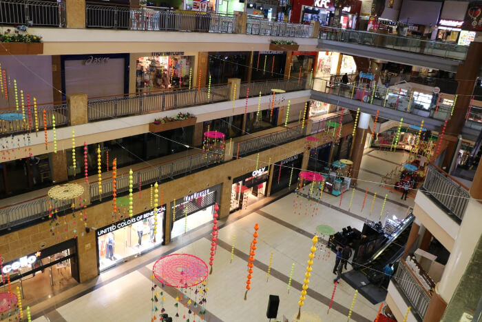 the biggest and most popular malls in the city