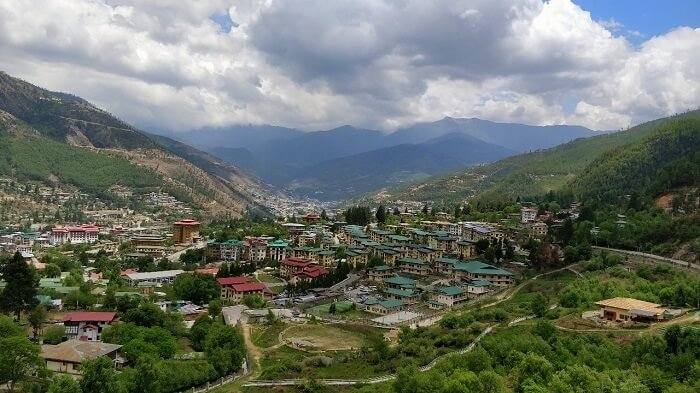 rohit bhutan family trip travelogue city views