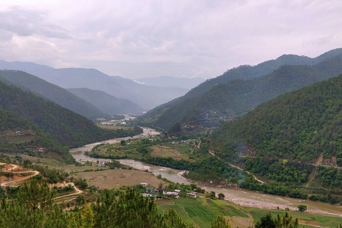 rohit bhutan family trip travelogue river