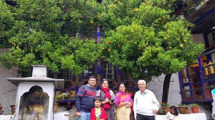 rohit bhutan family trip travelogue temple