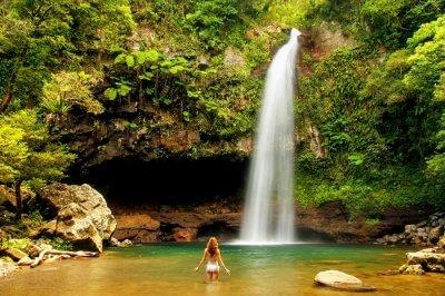Tavoro Waterfalls Fiji