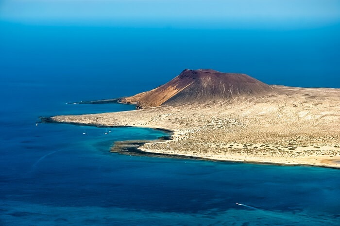 La Graciosa, New Island in Spain