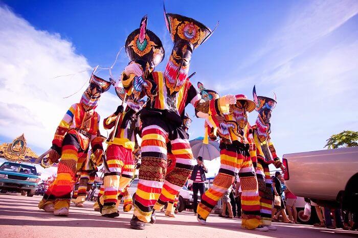 Phi Ta Khon Thailand