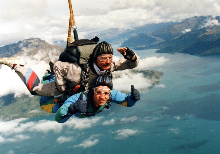 Skydiving, Queenstown