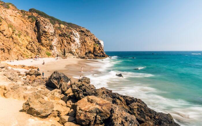 the serene and gorgeous Zuma Beach