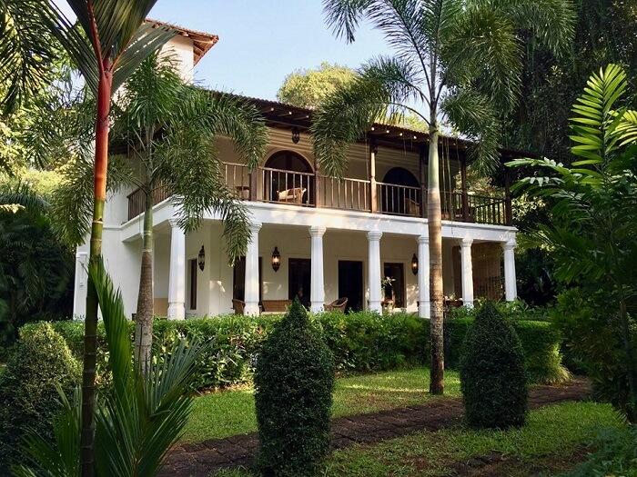 Portuguese villa in north goa