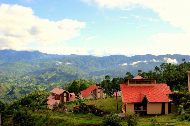 view of vimoksha resort