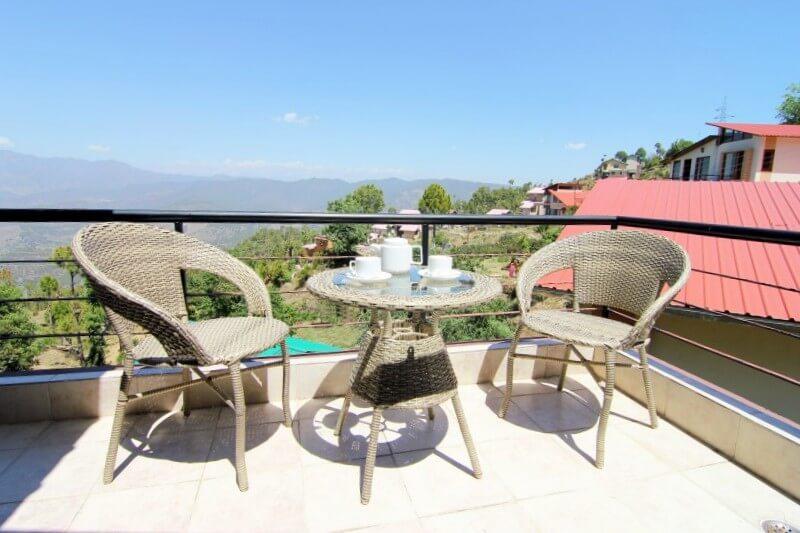 view from room in vimoksha resort