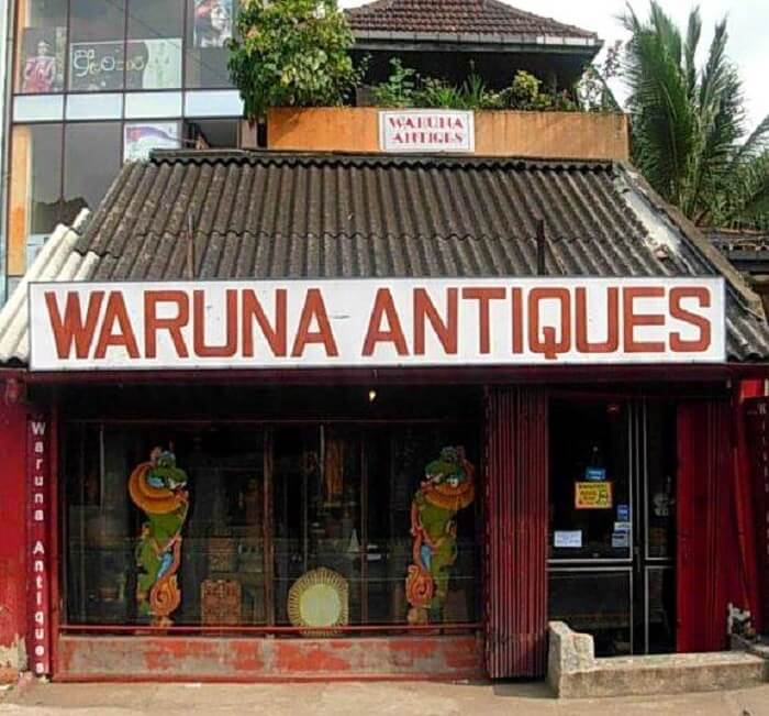 Waruna Antiques, Kandy