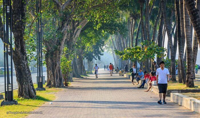 The Manila Baywalk