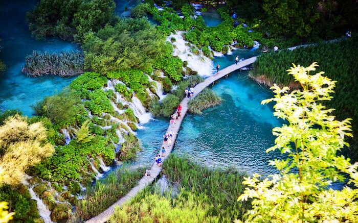 Lakes in Croatia