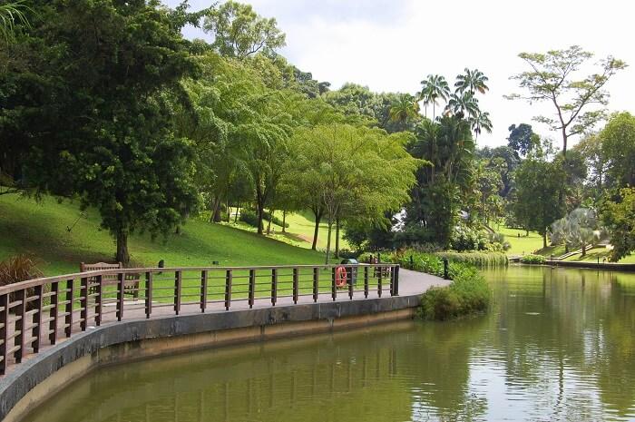 Symphony Lake in Singapore