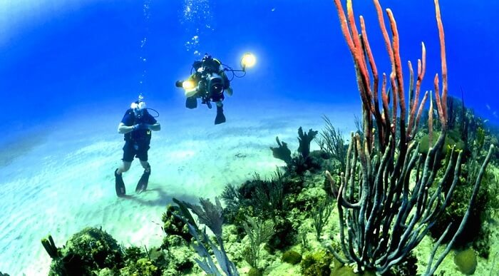 Under water famous island Malaysia