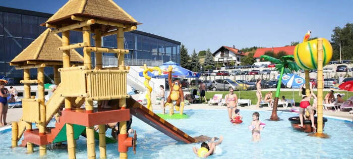 this aquapark sprawls over 15,000 sq. metre