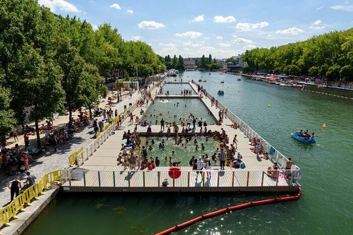 famous lakes in Paris