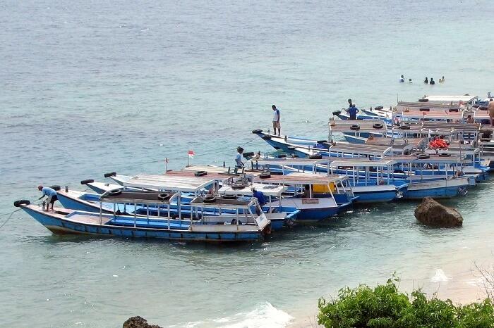 Boat ride to Menjangan Island