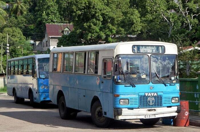 Bus In Seychelles