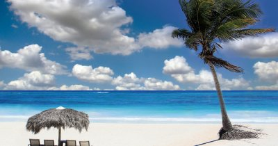 Coral Island beach in Thailand