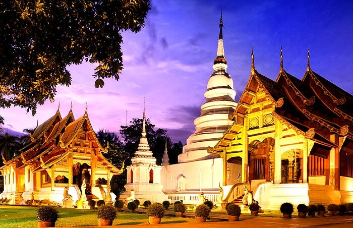 famous temple in chiang mai city