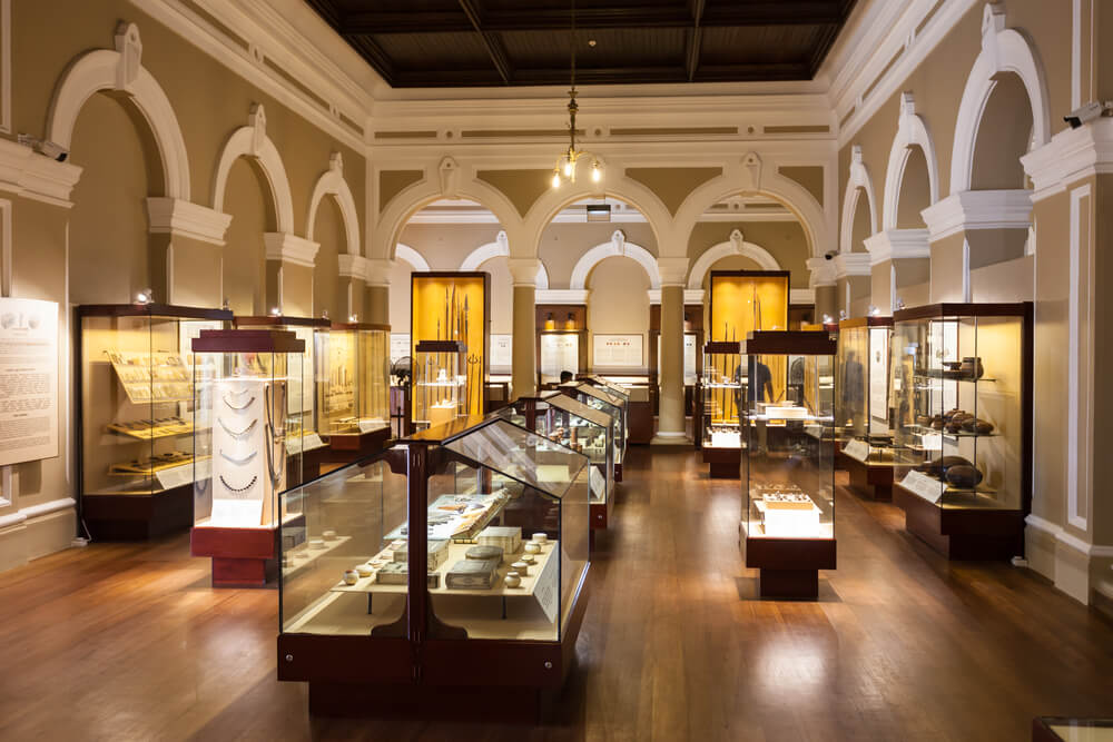 museums of exquisite artifacts
