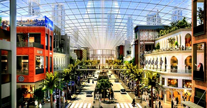 World's largest mall in Dubai