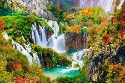 Plitvice national park in Croatia