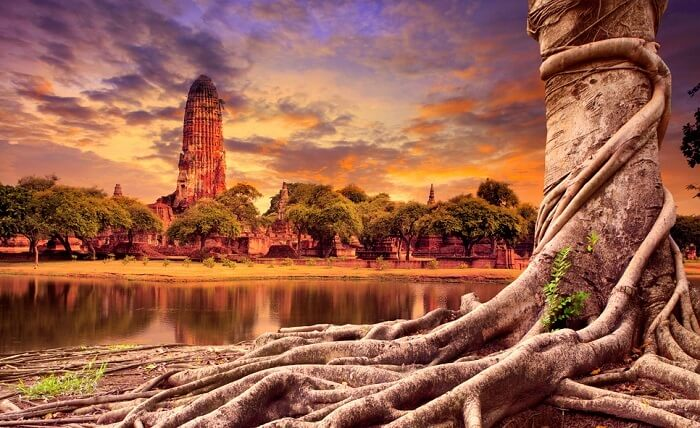 view of heritage site in thailand