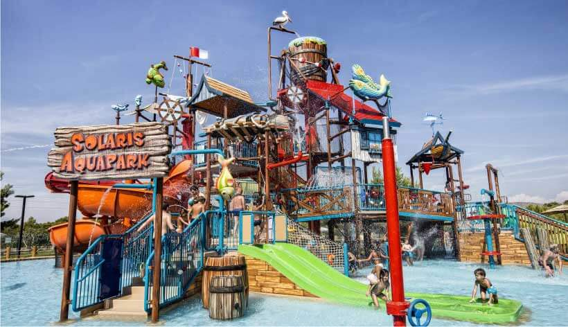 the most popular water parks in Croatia