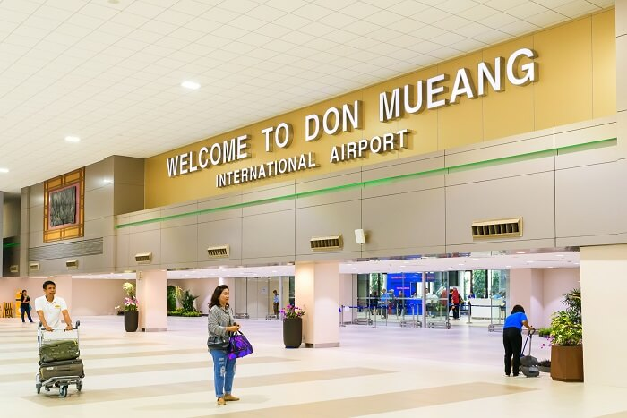 Don Mueang International Airport thailand