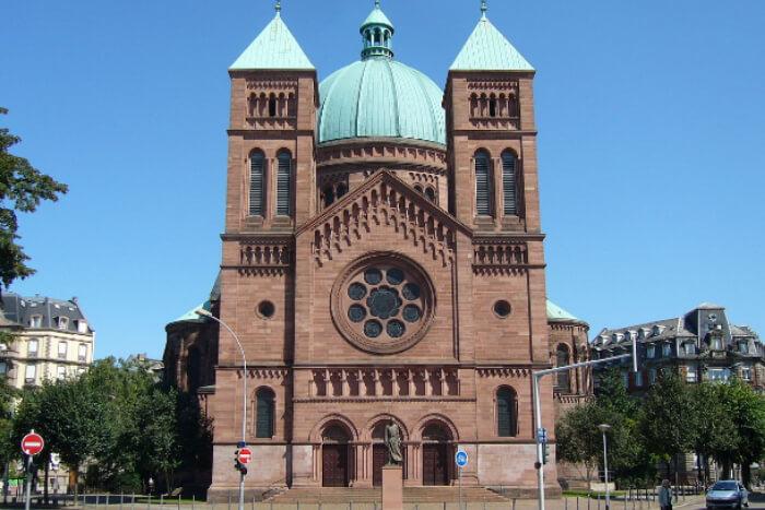 Eglise Saint-Pierre le Jeune france