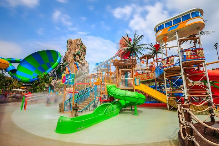 Enjoy a fun-filled day at the Black Mountain Water Park