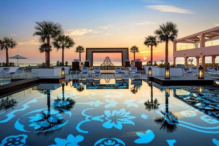 an oasis of luxury in the Arabian desert